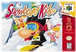 Snowboard Kids (USA) Box Scan